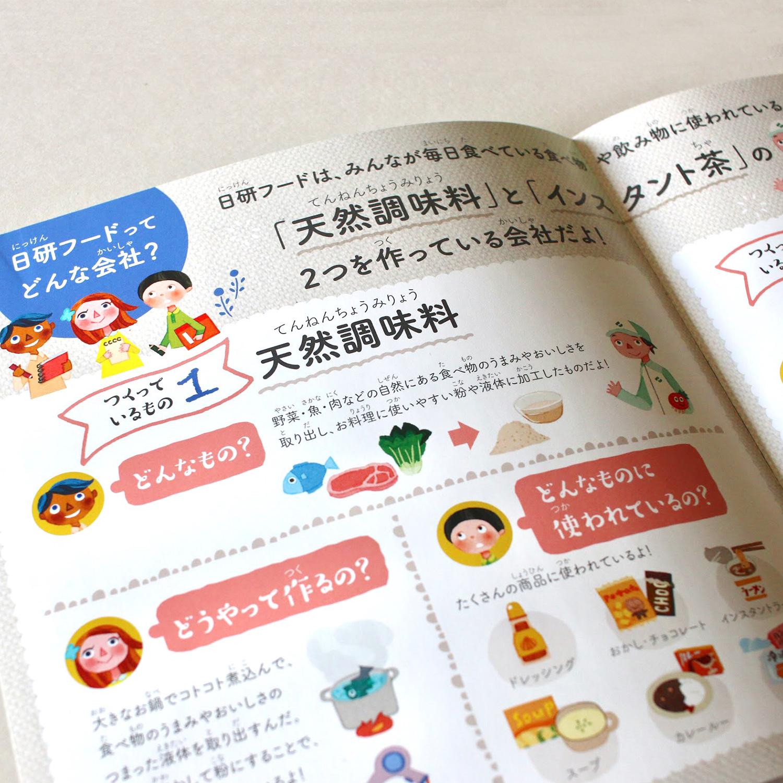 日研フード パンフレット誌面